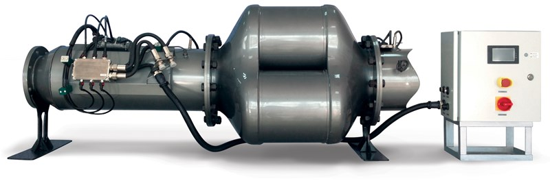 Marine exhaust converter by Tenneco